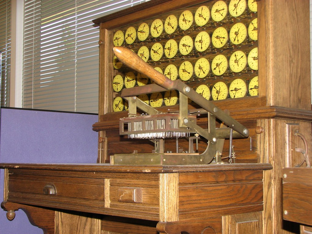 c.1900 Hollerith Census Tabulator