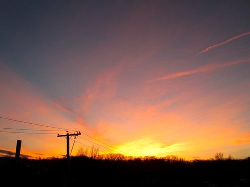 pink winter sunset yellow purple massachusetts peach westspringfield ahobblingaday