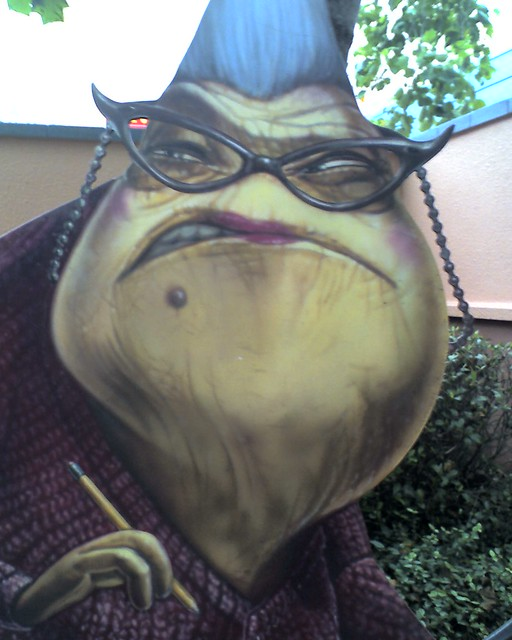 Roz from Monsters, Inc  Next to where Mike and Sully appea… | Flickr