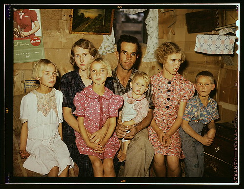 Jack Whinery and his family, homesteaders, Pie Town, New Mexico  (LOC) | by The Library of Congress