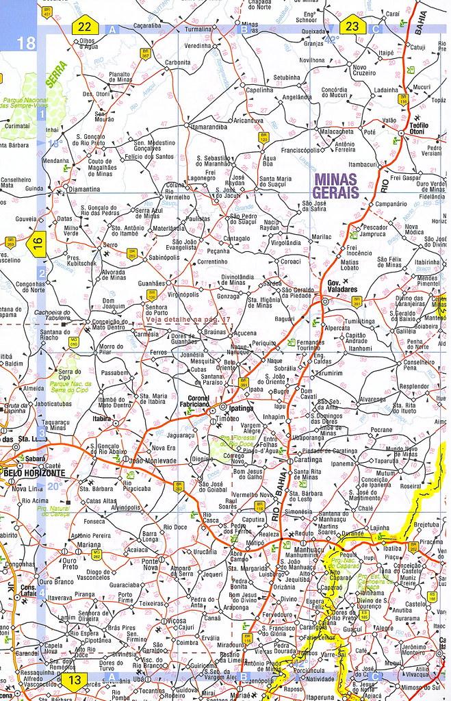 Mapa Rodovias Estradas Do Brasil Rodoviario Mapa Rut Flickr