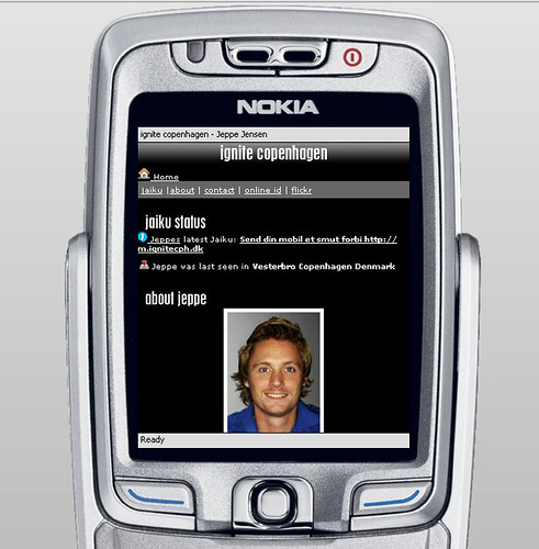 ignite copenhagen på din mobil | Tjek m.ignitecph.dk ud på