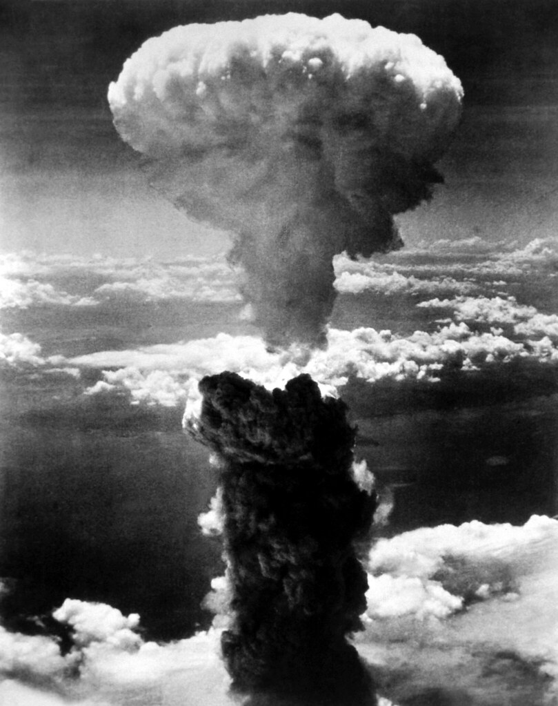 Public Domain: WWII: Atom Bomb, Nagasaki, August 1945 (HD-SN-99-02901 DOD/NARA)