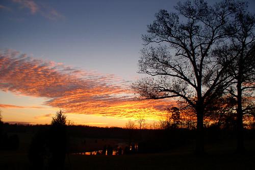 winter wallpaper sunrise northcarolina