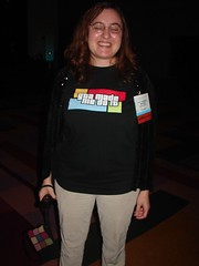 Kelly Czarnecki's awesome shirt | by The Shifted Librarian