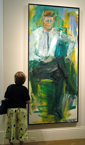 """John F. Kennedy"" by Elaine de Kooning (1963) | by hragv"