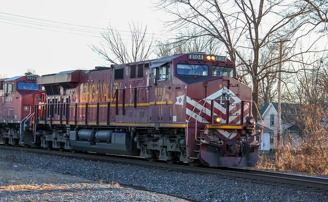 Norfolk Southern Lehigh Valley Heritage Unit ES44AC 8104