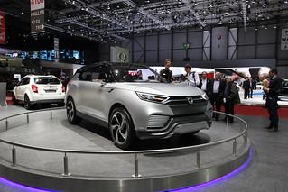 SsangYong XLV Concept @ Geneva 2014