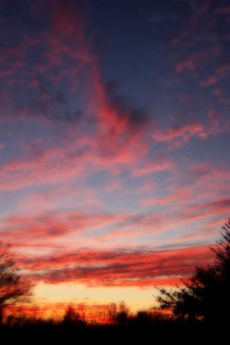 pink blue sunset red orange black yellow clouds photoshop scott louisiana purple 2008 orton 3733o