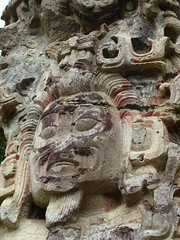 sculpture in Copan