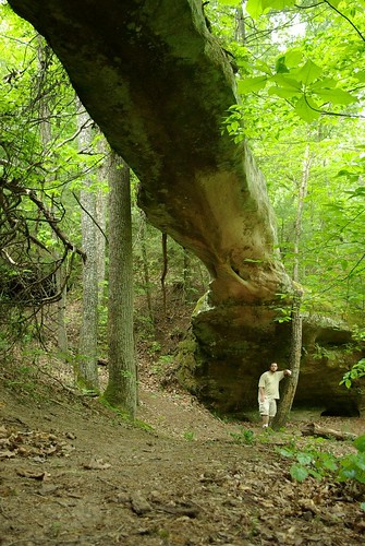 Needle Arch, Sawmill Trail, Big South Fork NRAA, Picket Co, TN