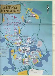 Disney\'s Animal Kingdom Map   John Corigliano   Flickr