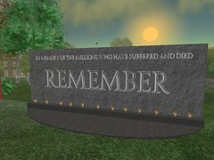 Second Life: Porcupine: Autism Memorial | by rosefirerising