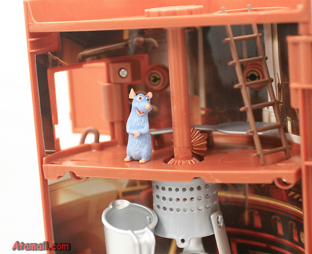 Remy Ratatouille Kitchen Chaos Playset A Detailed View Of