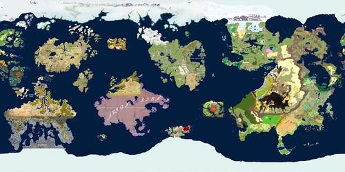 Composite of 50 D&D maps on one Earth-sized world   * Khorvi…   Flickr