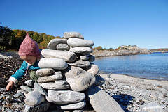 stacking rocks   by SouleMama