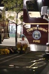 Firefighters - Santiago Fire - Orange County   by JsonStone