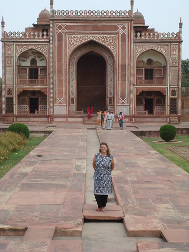 "josie at ""the baby taj"" 