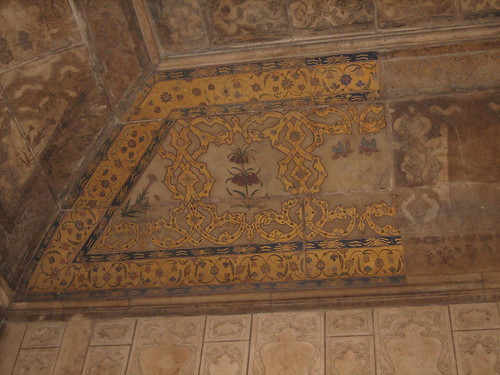 fort rouge : plafond