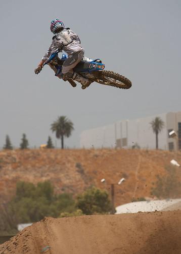 Jason Lawrence whip at Milestone