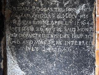 William Boggas the sonne of William Boggas