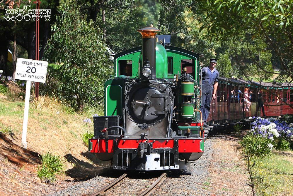 Puffing Billy Railway - 6A near Emerald by Corey Gibson