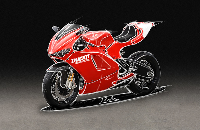 rough validé 210706bruno rolo ducati ducat desmosedici bike moto riding GP motoGP design motorbike architecture clay model modeling racing race grandprix
