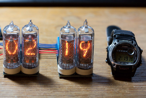 NIXIE Clock: Basics | by Adam Greig