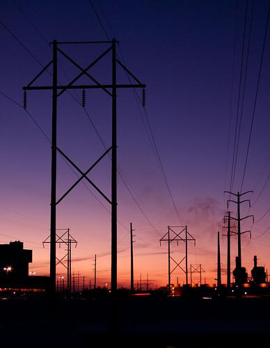 pink sunset sky purple powerlines ultimateshot