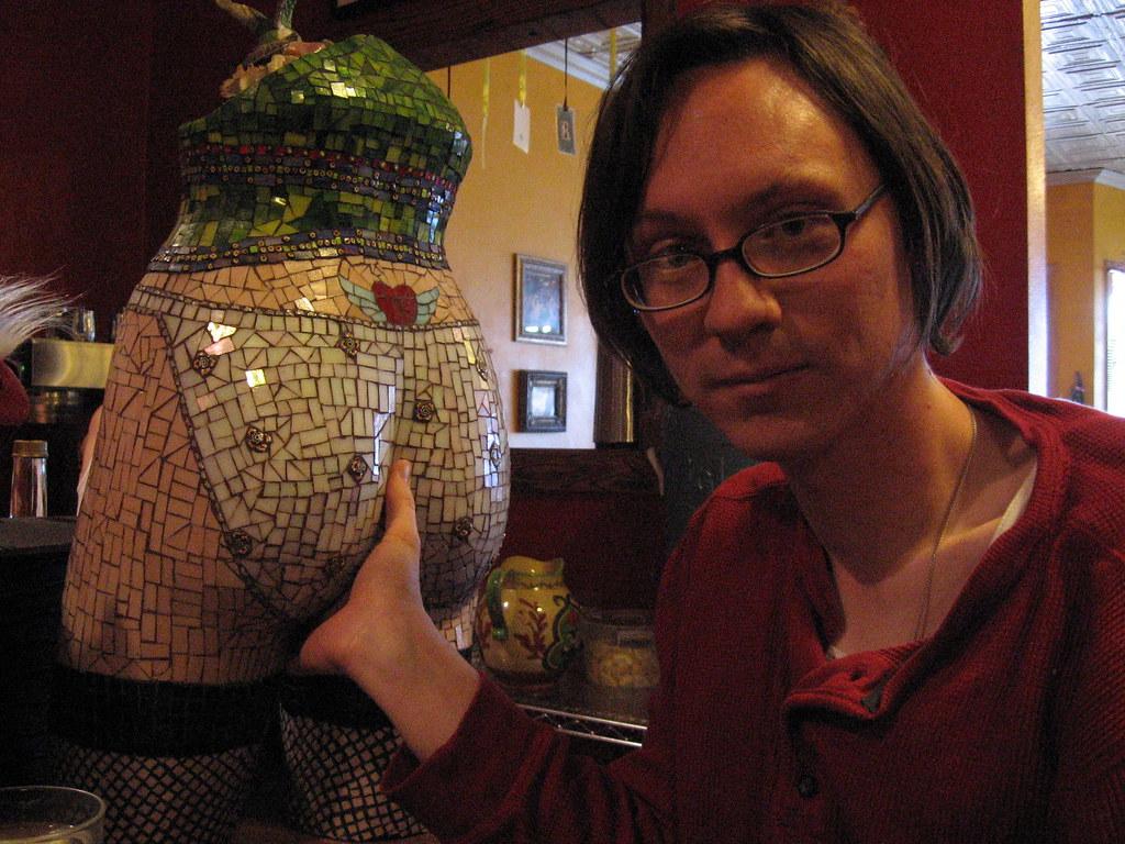 Ass Grope mosaic ass grope | i decided to fondle the mosaic ass statue
