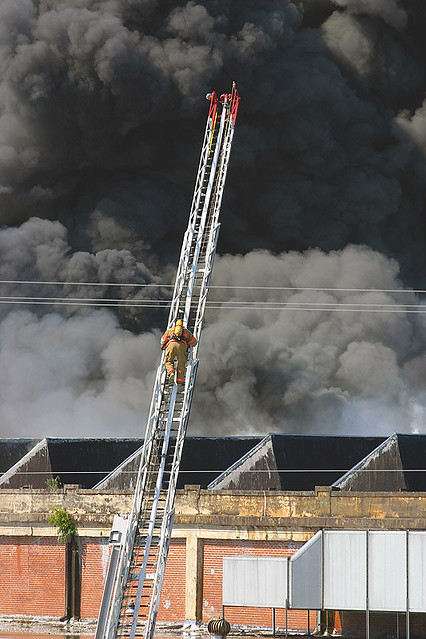 Great Falls Mill Fire