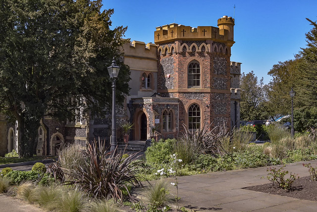 Whitstable Castle - rear