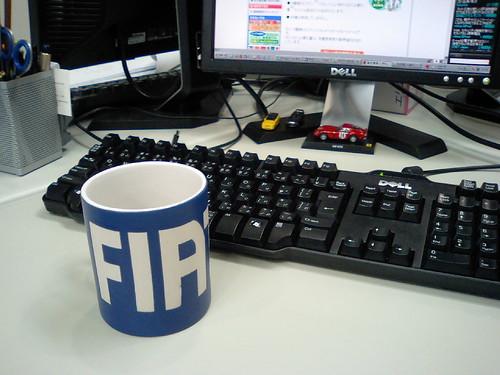 FIAT mug