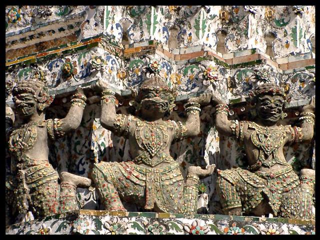 Cornice of the Wat Arun