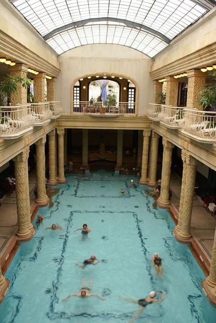 Banos Gellert.Gellert Baths