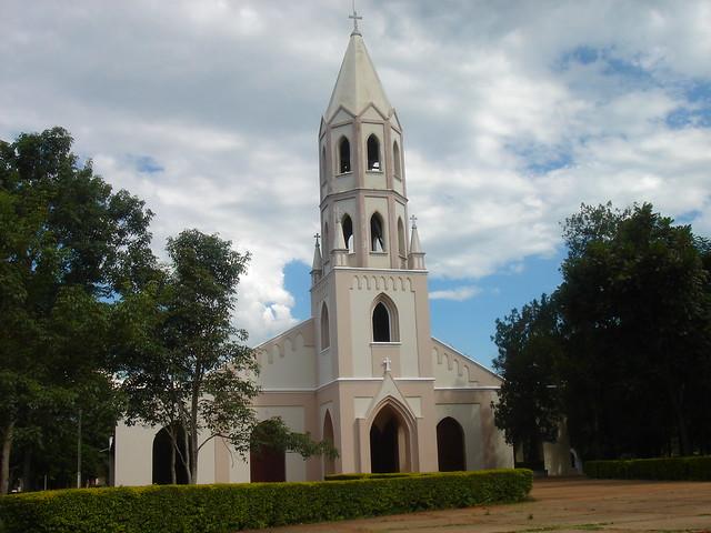 La iglesia de Caazapá