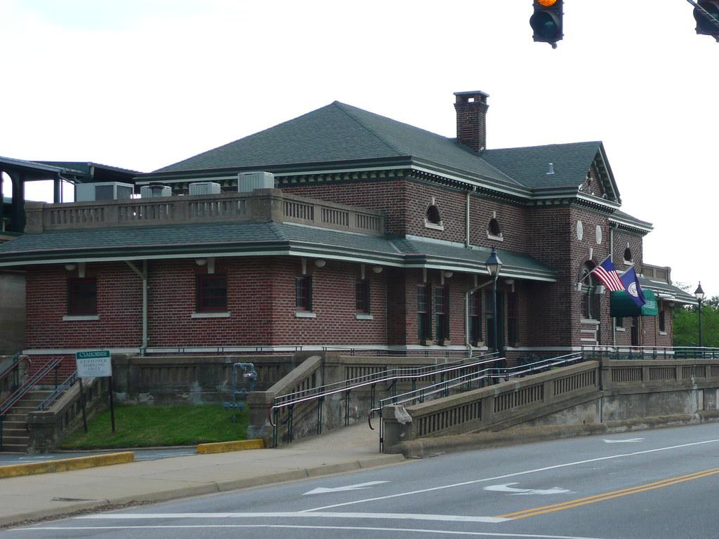 Fredericksburg Va Train Station A Restaurant Now Occupies