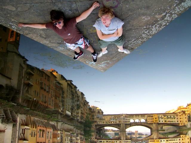 Glued in Firenze