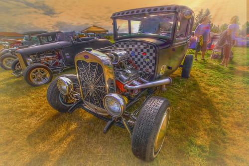 car cars hotrod ford morning sunrise carshows