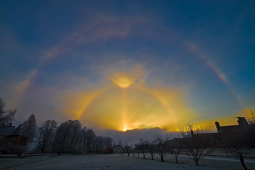 Sun Portal - Parhelion by Svein Skjåk Nordrum