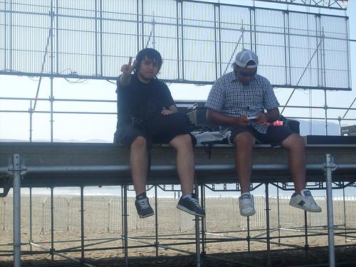 Magman con Fabian en el escenario Garage Music | by Cuckoo.For.Magman