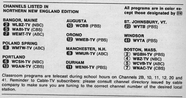 Nbc Boston Channel Number