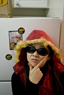 Caleb's Christmas Card Refrigeration Domination