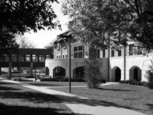blackandwhite architecture landscapes iowa waverly wartburgcollege