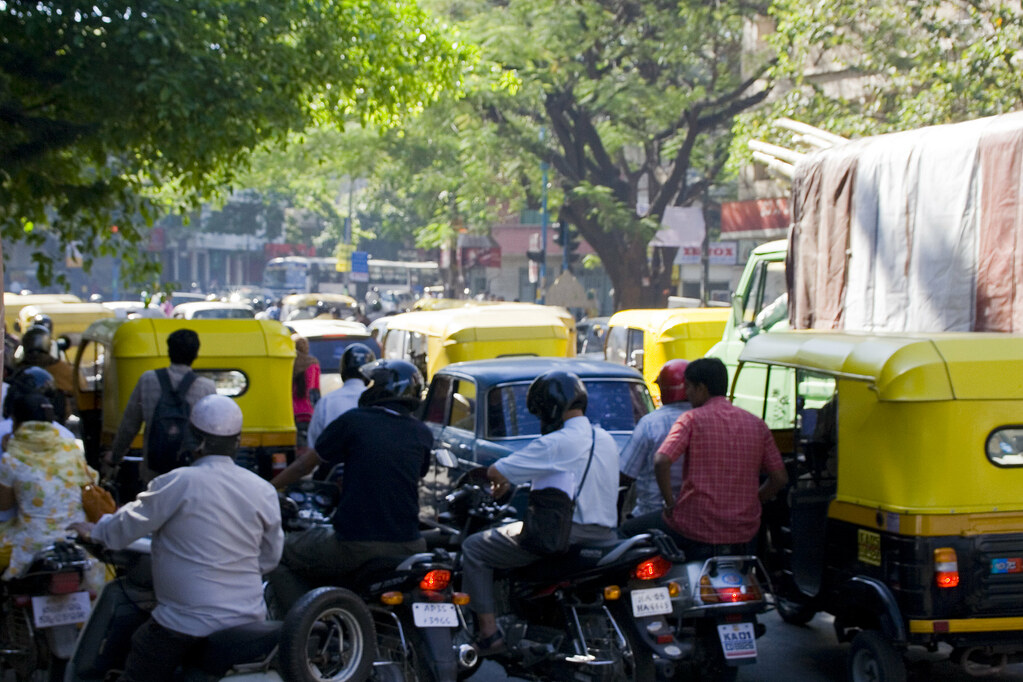 Traffic in Bangalore   A typical example of the traffic in ...