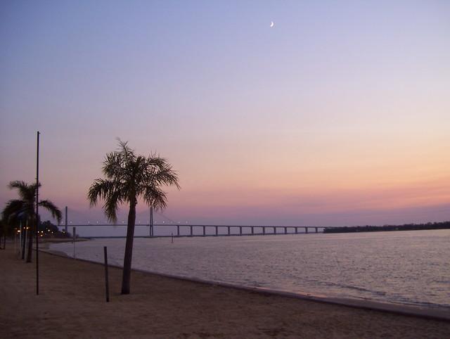 Puente Rosario-Victoria desde La Florida (Rosario)