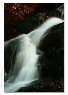Waterfall in Arinsal. Andorra.