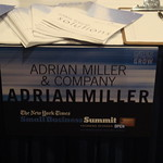 Adrian Miller's table at NYTimes