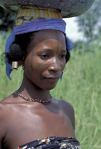 Portrait of young woman. Ghana   by World Bank Photo Collection