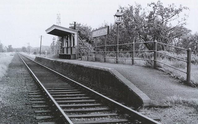Langford and Ulting Halt in 1957